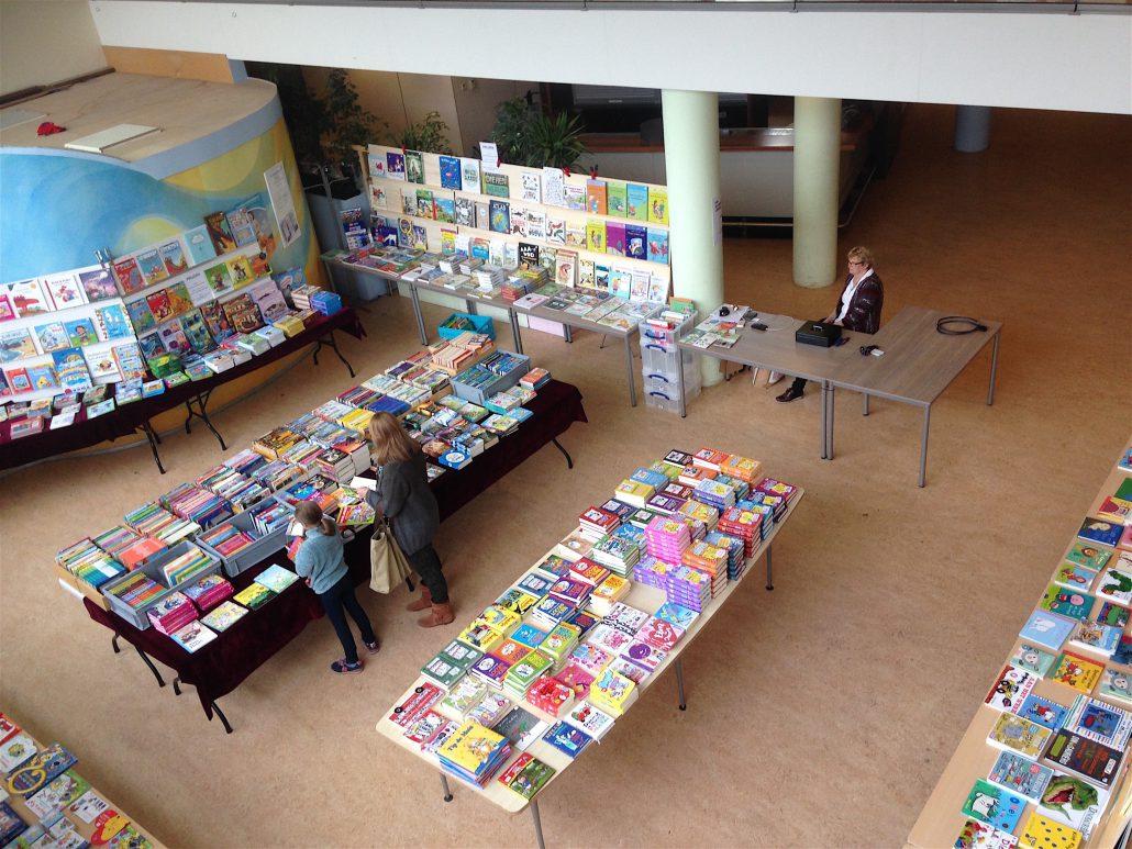 Boekenmarkt op school organiseren
