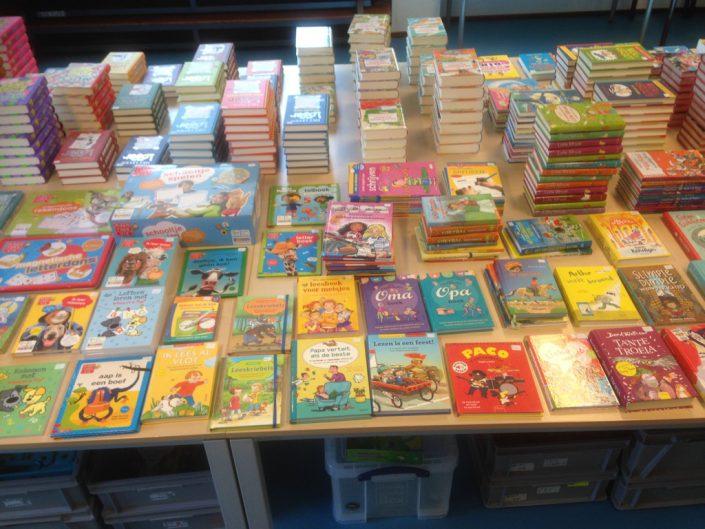 Boekenverkoop op school